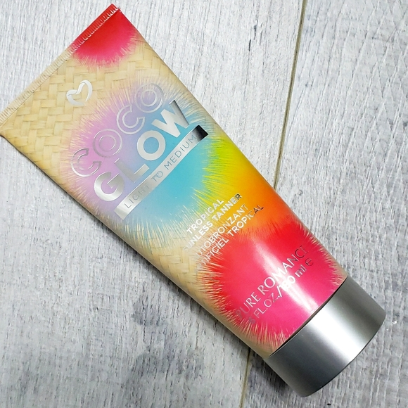 NEW SEALED Coco Glow Sunless Tanning Lotion
